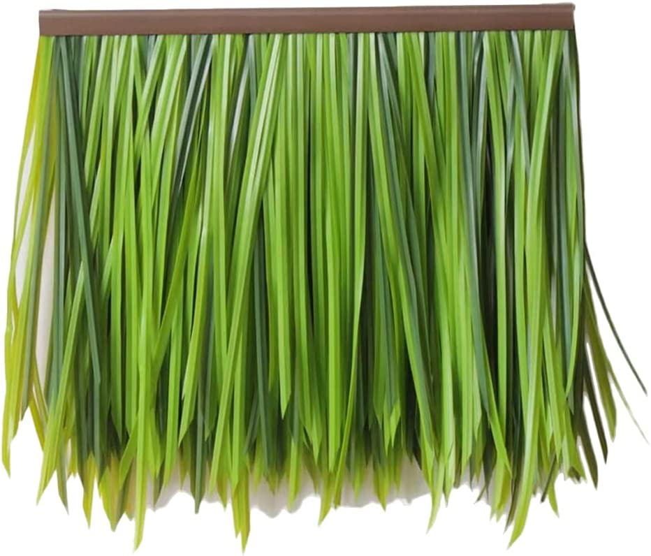 Fake Year-end gift Thatch Artificial Roof T Award-winning store Fur-Grass