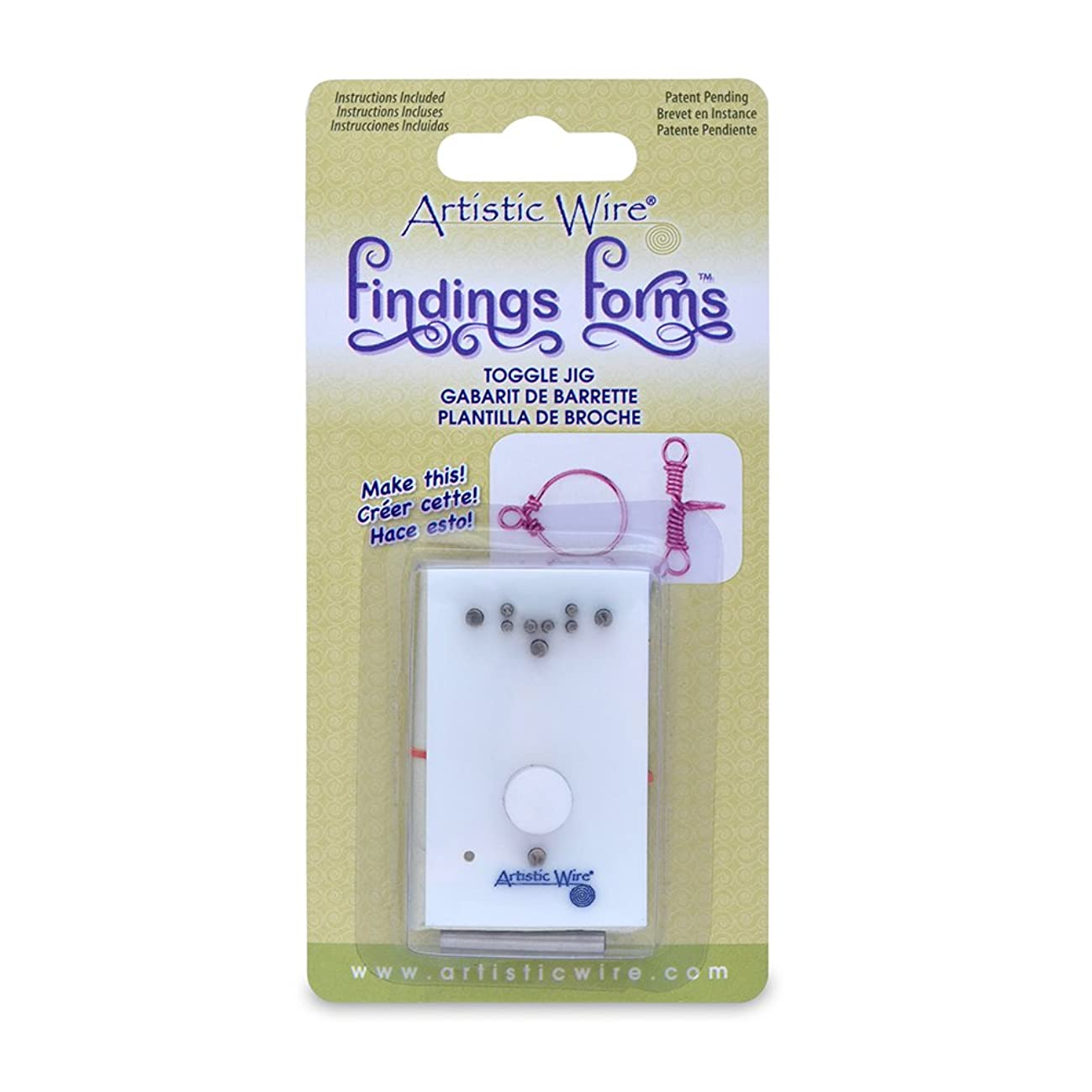 Beadalon Artistic Wire Findings Forms Toggle Jig