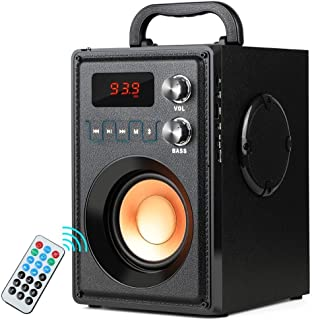 Portable Bluetooth Speaker 20W Subwoofer Heavy Bass Wireless Outdoor/Indoor Speaker Big Power Speakers Support Remote Cont...