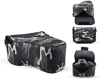JJC OC-MC3GR Grey Camera Case Bag Protector For Canon 5D3 5D2+24-105mm 24-70mm F4L 7D 60D +18-135mm For Nikon D7200 D7100 ...