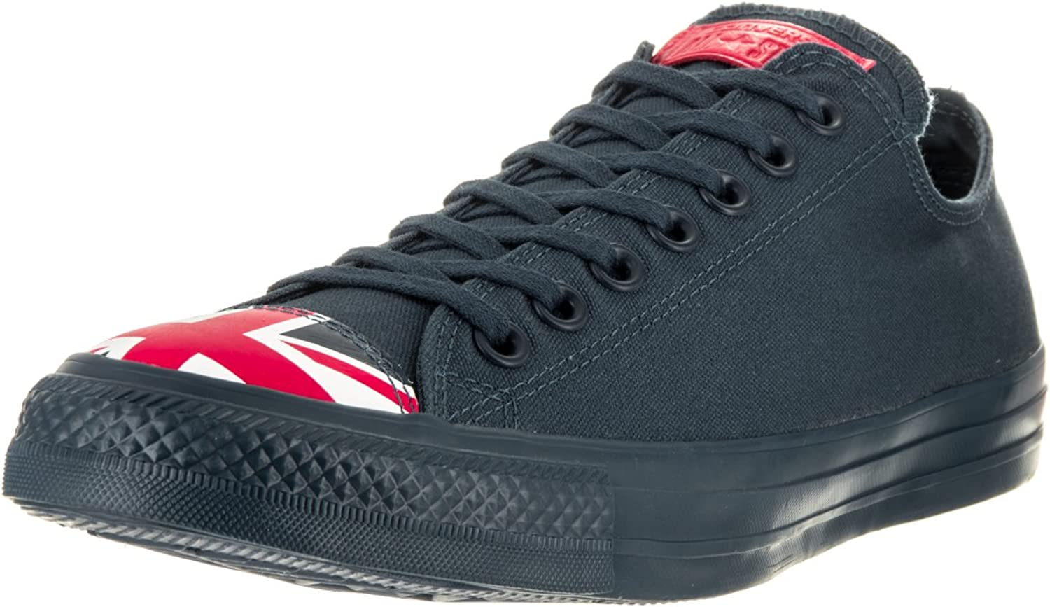 Converse Unisex Chuck Taylor All Star Ox Navy Red Whi Basketball shoes 7.5 Men US   9.5 Women US
