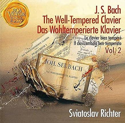 巴赫:平均律钢琴曲集全集2(CD)XWXDS-6