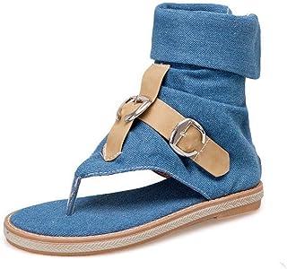 BalaMasa Womens ASL06287 Pu Block Heels