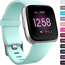 Ouwegaga Bands Compatible with Fitbit Versa/Versa 2/Versa Lite/Versa 2 SE Water Resistant Fitness Straps for Women Men Multi Color