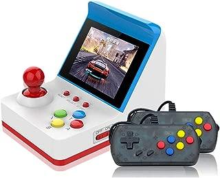 LUCKY ミニRetroGame A6 ゲーム機 360種ゲーム内蔵 レトロ携帯ゲーム機 コントローラー付き【英語版】