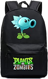 AUGYUESS Game School Bag Rucksack Daypack Bookbag Laptop Bag Backpack for Plants vs. Zombies Cosplay (4)