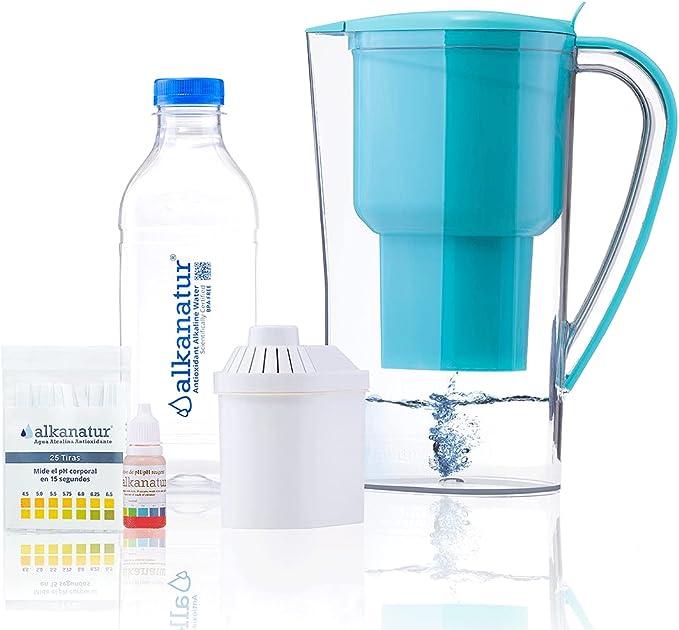 261 opinioni per Alkanatur- Caraffa filtrante per Acqua Alcalina Certificata- ionizzatore