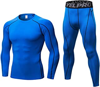 Men's Ultra Soft Thermal Underwear Set 2 pc Long Johns Set Base Layer Top and Bottom
