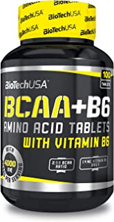 Post Workout Recovery for Muscle Recovery and Muscle Building BIOTECH USA BCAA + B6 Amino Acid, 100/200 Tabs. (100)