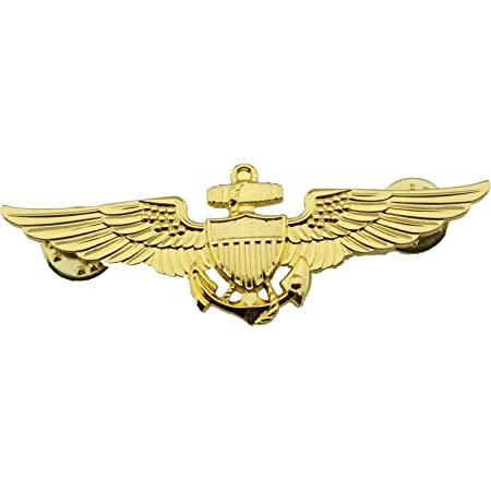 GENUINE U.S ASTRONAUT AVIATOR NAVY BADGE REGULATION SIZE