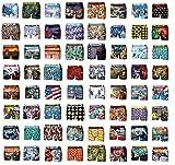 Boxer Freegun fantaise- Assortiments en pack selon modèles disponibles- (6/8 ANS, Pack de 8 boxers Enfant)