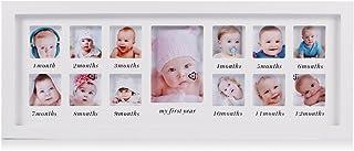 Mi primer año bebé marco de fotos bebé recién nacido