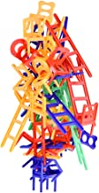 WEofferwhatYOUwant Chairs and Ladders Suspend Family Game - Stacking Balance Game. 44 Individual Pieces.
