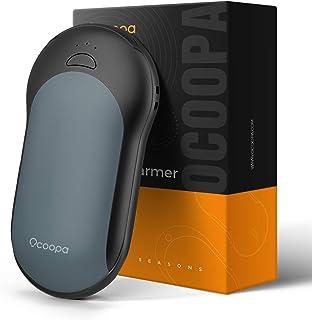 OCOOPA Chauffe-mains rechargeable, 10 000 mAh Chauffe-mains électrique chaud d'hiver portable 15 heures pour homme et femm...