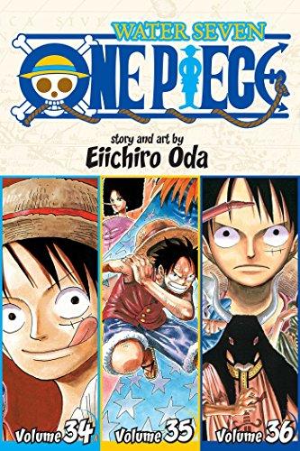 One Piece: Water Seven 34-35-36, Vol. 12 (Omnibus Edition): Includes Vols. 34, 35 & 36