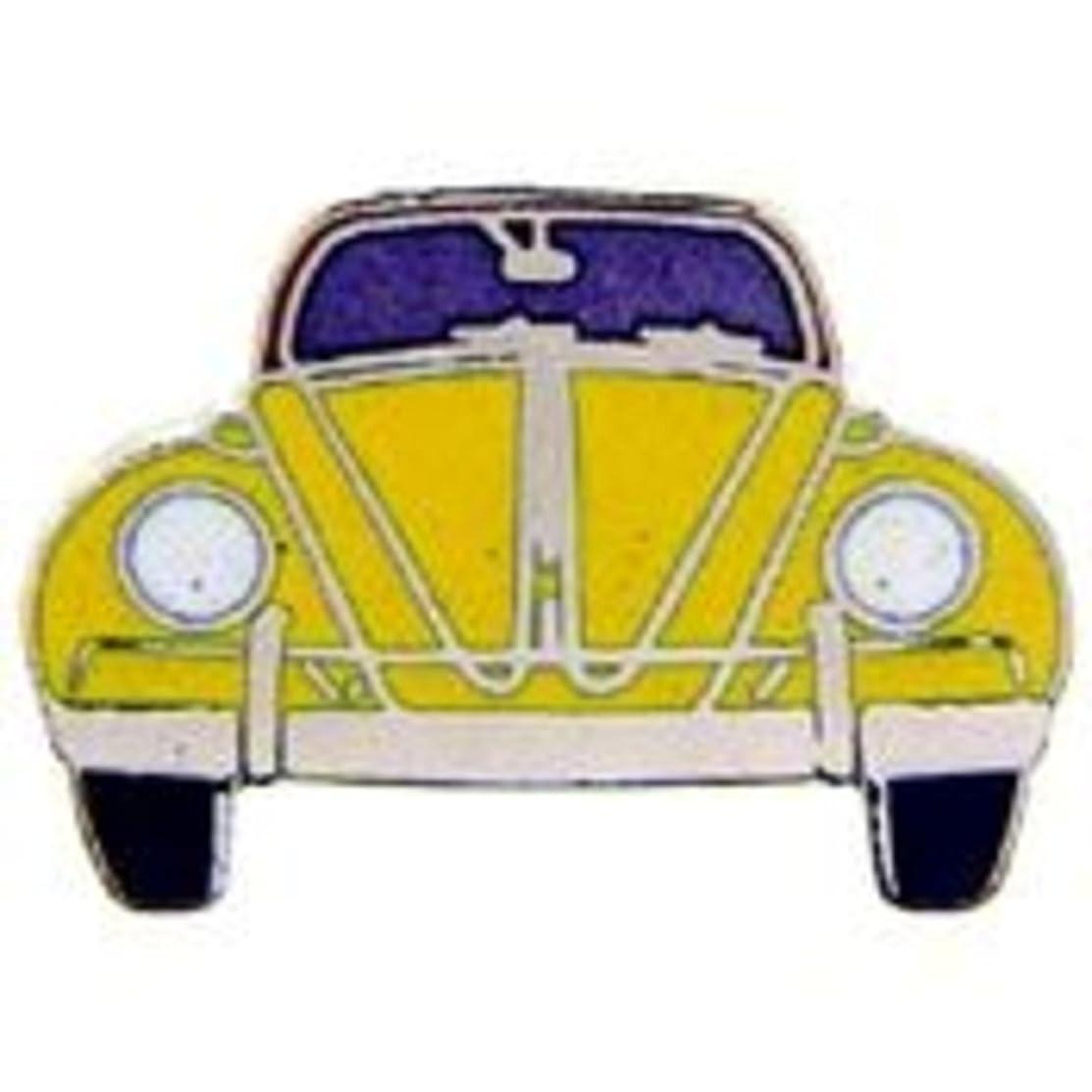 EagleEmblems P07033 PIN-CAR,VW,Front,Yellow (1'')