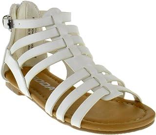 787e71c0d283 Sod Dixon 2A Little Girls Strappy Peep Toe Gladiator Sandals