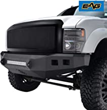 EAG Replacement Grille Black Stainless Steel Mesh with ABS Shell Fit for 08-10 Ford Super Duty F250/F350