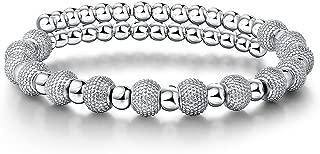 Deezire Jewels Bead Wrap Bracelet with Studded Large Beads