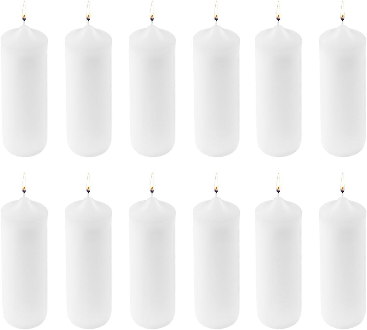 Super Z Outlet Regular store 3 x 9 for Unscented Home Sacramento Mall Candles Decoratio Pillar
