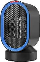 CTEGOOD Calefactor Portátil Eléctrico Mini Calefactor Silencioso con Calentador Rápido de Cerámica con Viento Calor y Natural, Ventilador Calentador, para Oficina Dormitorio 600W