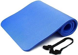 Yoga Mat Folding Yoga Mats Home Gym| Solid Color Carpet Door Mat Yoga Portable 15mm EVA Thick Foldable Sweat Absorbing Ant...