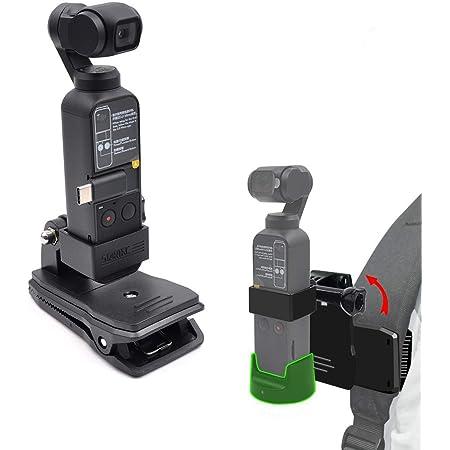 KOKITEA DJI OSMO POCKET 固定クリップ ストラップの固定ブラケット Osmo Pocket 拡張用カメラスタンド 固定 実用性 便利 動画撮影 旅撮影
