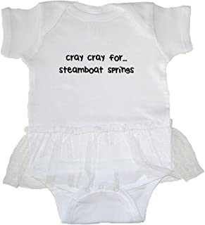 Cray Cray For steamboat springs Baby Tutu Bodysuit