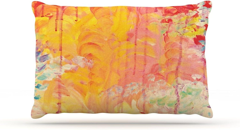 Kess InHouse Ebi Emporium Fleece Dog Bed, 30 by 40Inch, Sun Showers