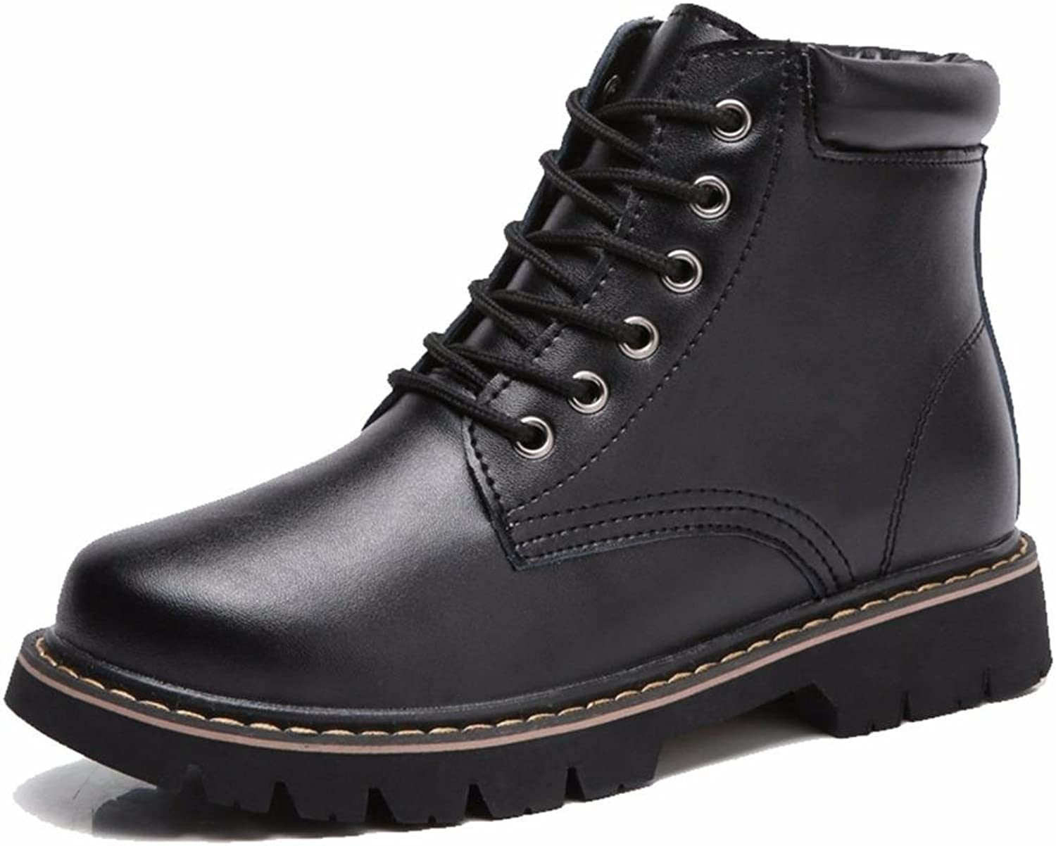 Moonwalker Women's Genuine Leather Chucka Ankle Boot