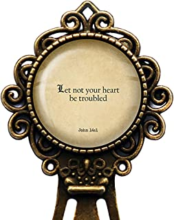 let not your heart be troubled kjv