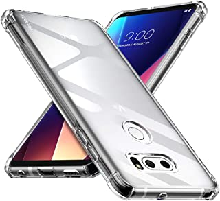 CASEVASN LG V30 / LG V30S / LG V30 Plus/LG V30S ThinQ/LG V35 / LG V35 ThinQ Case, [Slim Thin] Anti-Scratches TPU Gel Slim Fit Soft Skin Silicone Protective Case Cover (Clear)