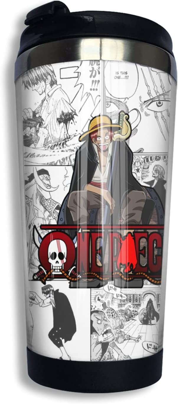 One Piece Anime Coffee Cup Thermos Print Max 85% OFF 3d Selling and selling Mug Funny