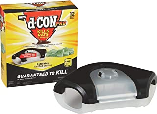 D-Con 1 Mouse Bait Blocks Refills-12 Count with 1 Station