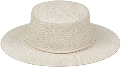 Lack of Color Women's Wanderer Woven Straw Boater Sun Hat