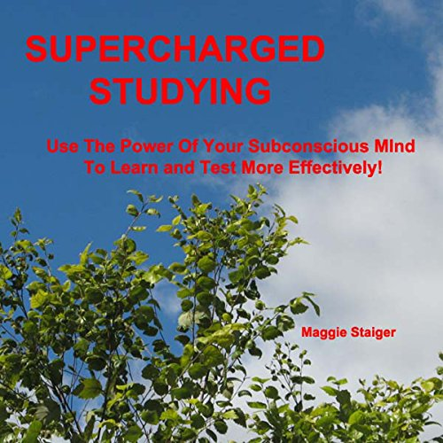 Supercharged Studying audiobook cover art