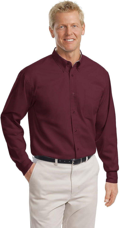 Port Authority Tall Long Sleeve Easy Care Shirt. TLS608