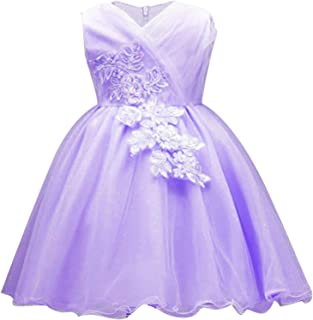 Ling-long 2019 New Year Kids Dresses Wedding Dress Children Clothes Toddler Christmas Princess Birthday Party Prom Dress