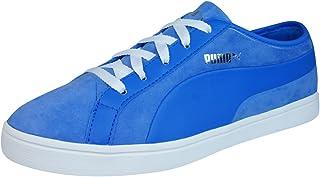 PUMA Kai Lo Nubuck Womens Leather Trainers/Shoes - Blue