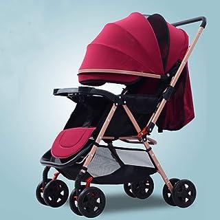 Barnvagnar med vändbart styre, bärbar barnvagn ultralätt nyfödd buggy-c