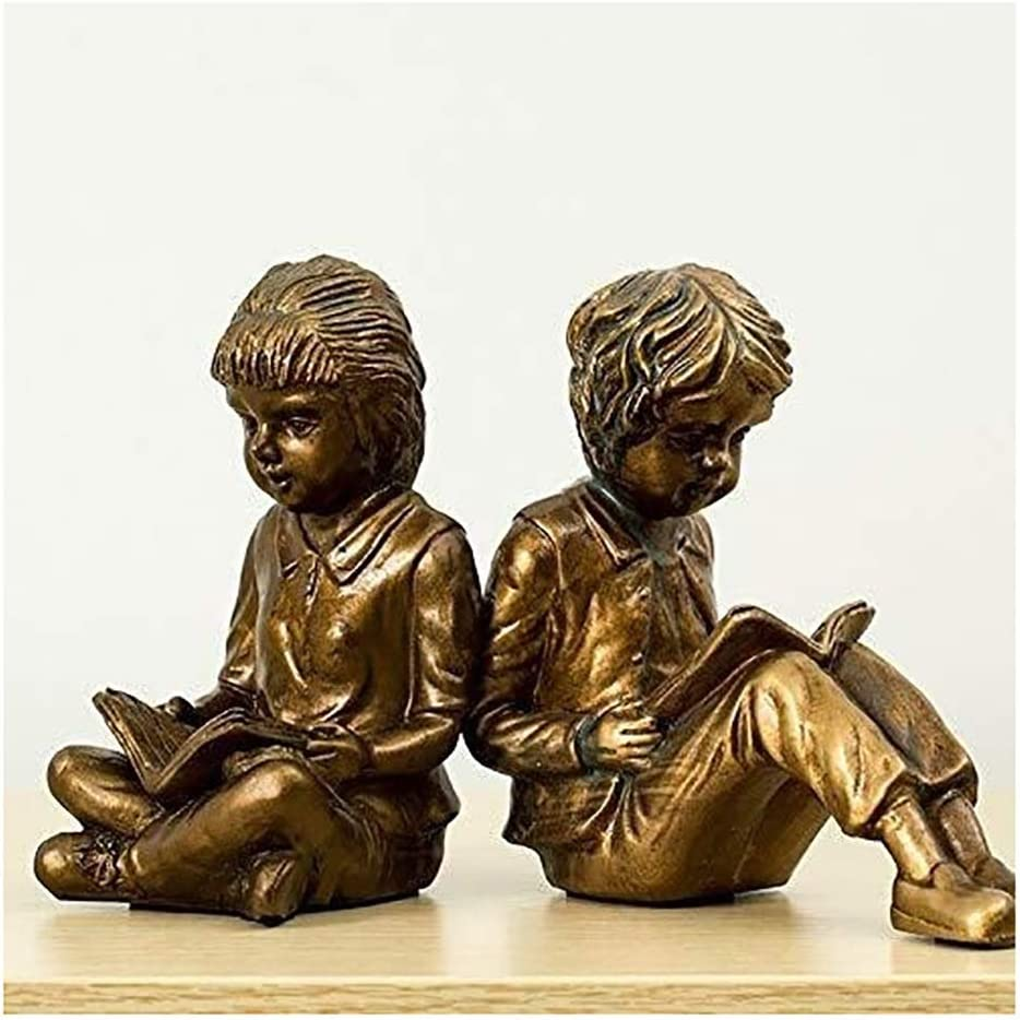 Bookends Decorative Book American Creative Girl New products world's highest quality Max 88% OFF popular Deco Bookend Boy