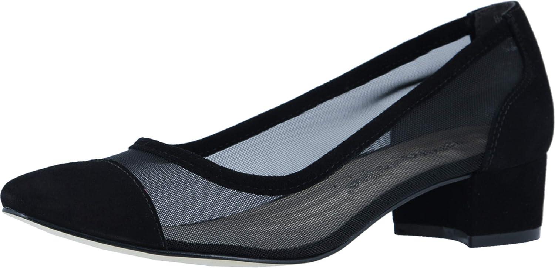 Walking Cradles Hepburn Black Mesh/Black Suede 7.5
