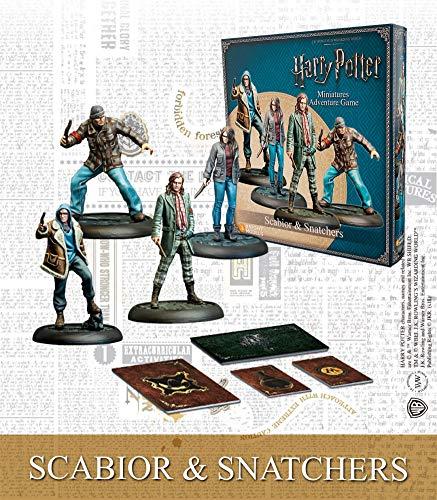 Knight Models Juego de Mesa - Miniaturas Resina Harry Potter Muñecos Scabior and Snatchers Spanish