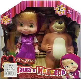 دمية ماشا مع الدب