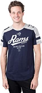 Ultra Game NFL Men`s Active Crew Neck Jersey Tee Shirt