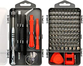 X-Sea Precision Screwdriver Set, 110 in 1 Professional Screwdriver set, Multi-function Magnetic Repair Tool Kit Compatible with iPhone/Ipad/Android/Laptop/PC/Watch/Camera etc