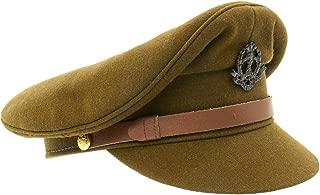 British WWII Officer Peaked Visor Cap- Size US 7 (56cm)