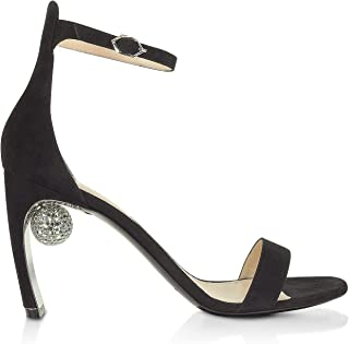 NICHOLAS KIRKWOOD Luxury Fashion Womens 909A01SLS1N99 Black Sandals | Fall Winter 19