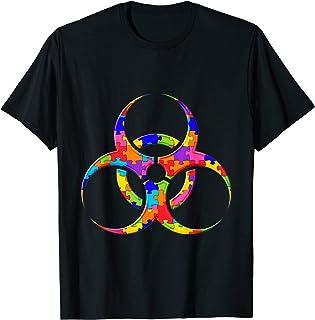 Toxic Biohazard Radiation Jigsaw Puzzle Autisme T-Shirt