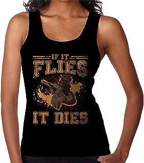 RHEYJQA If It Flies It Dies Women's Vest